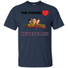 Three Stooges Love New England T-Shirt