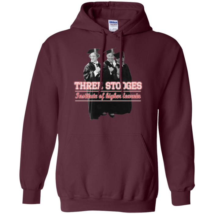 Three Stooges Higher Learning Pullover Hoodie - Free Shipping