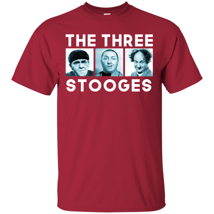 Three Stooges Three Squares T-Shirt