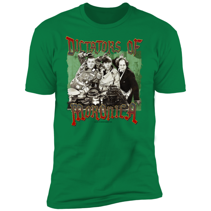 Three Stooges Dictators Of Moronica Premium Short Sleeve T-Shirt