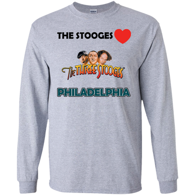 Three Stooges Love Philadelphia Long Sleeve Shirt
