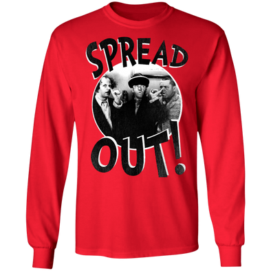 Three Stooges Spread Out Long Sleeve T-Shirt