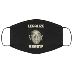 Three Stooges Legalize Shemp Face Mask