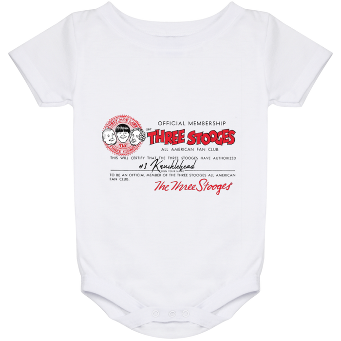 Three Stooges Baby Onesie 24 Month