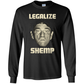 Three Stooges Legalize Shemp Long Sleeve T-Shirt