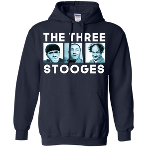 Three Stooges Three Squares Hoodie - Free Shipping
