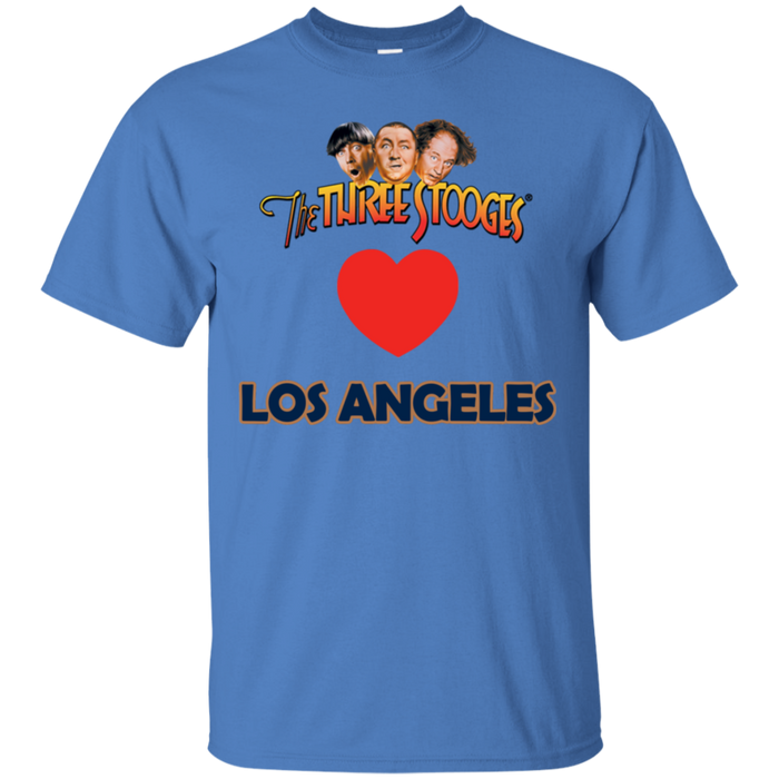 Three Stooges Love Los Angeles Heart T-Shirt