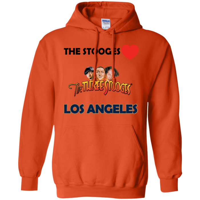 Three Stooges Love Los Angeles Hoodie - Free Shipping