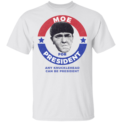Three Stooges Moe For President T-Shirt