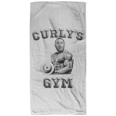 Three Stooges Curly's Gym Bath Towel - 32x64