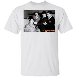 Three Stooges Classic Scene Hold That Lion 4 Stooges Photo T-Shirt