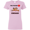 Three Stooges Love Chicago Ladies T-Shirt