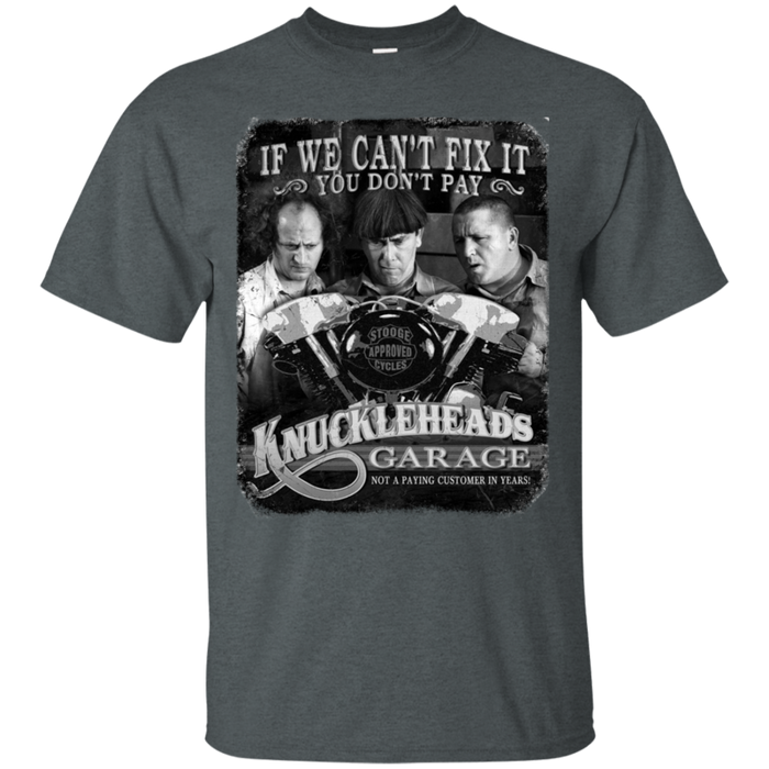 Three Stooges T-Shirt Knuckleheads Garage