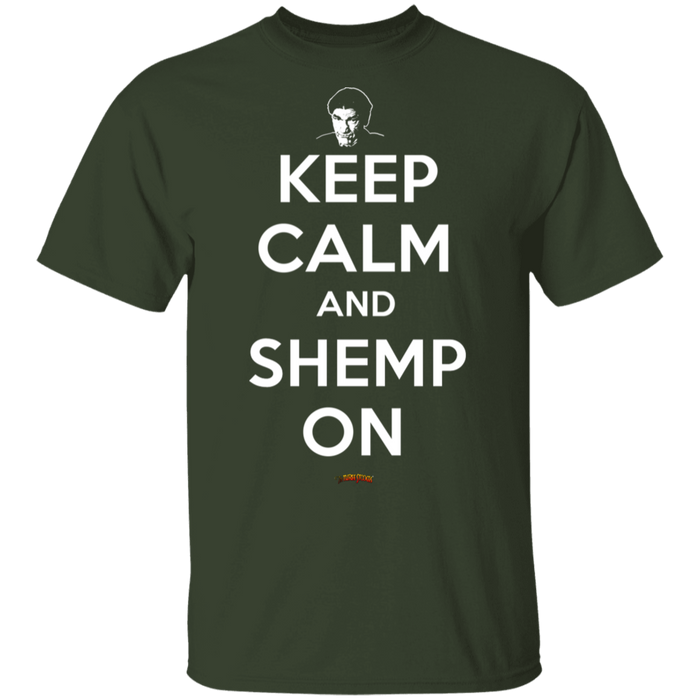 Three Stooges Keep Calm And Shemp On T-Shirt