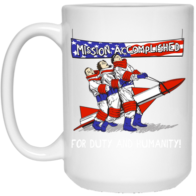 Three Stooges Large 15 .OZ Mission Accomplished Mug FREE SHIPPING