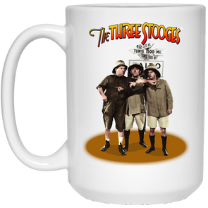 Three Stooges Large 15 .Oz Safari Mug Free Shipping