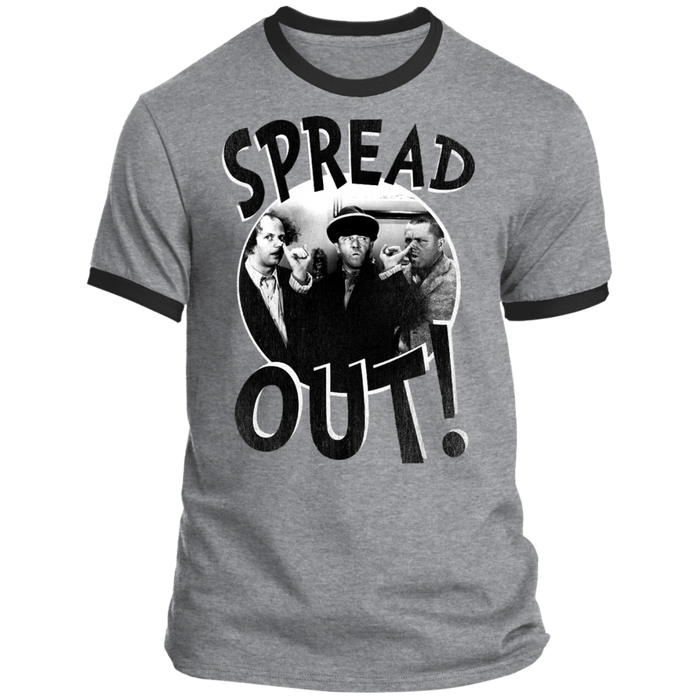 Three Stooges Spread Out Ringer Tee