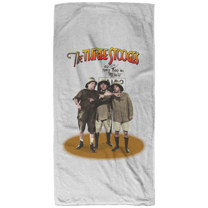 Three Stooges Safari Bath Towel - 32x64