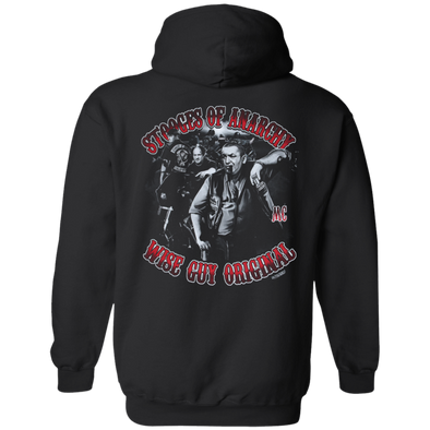 Three Stooges Of Anarchy Hoodie
