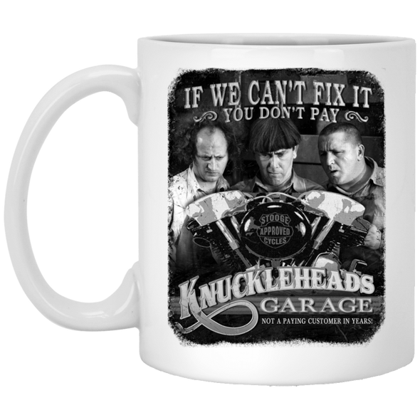 Three Stooges Knuckleheads Garage Mug - FREE SHIPPING