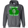 Three Stooges Kiss Me I'm A Stooge Hoodie - FREE SHIPPING