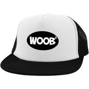 Three Stooges Trucker Hat with Snapback - WOOB To The 3rd Power