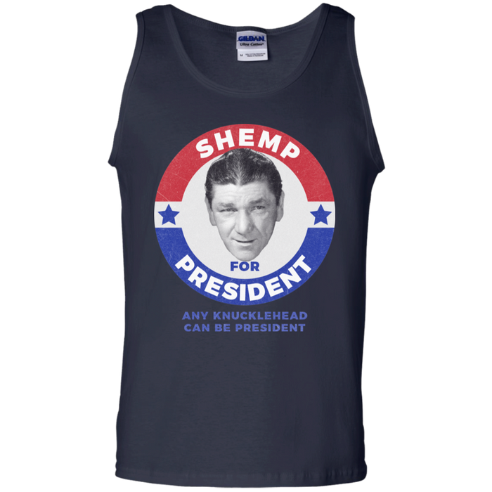 Three Stooges Shemp For President Tank Top