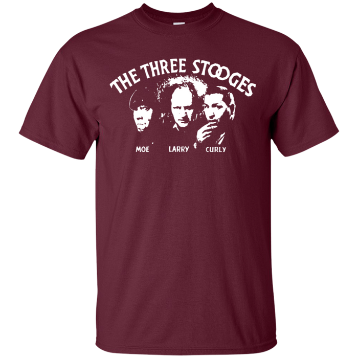 Three Stooges Opening Credits Classic Logo T-Shirt