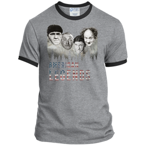 Three Stooges American Legends Ringer Tee