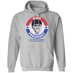 Three Stooges Moe For President Pullover Hoodie