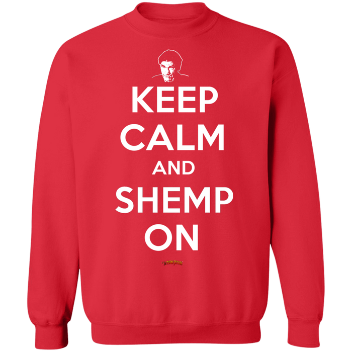 Three Stooges Keep Calm And Shemp On Crewneck Sweatshirt