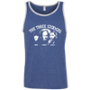 Three Stooges Classic Credits Ringspun Cotton Tank Top