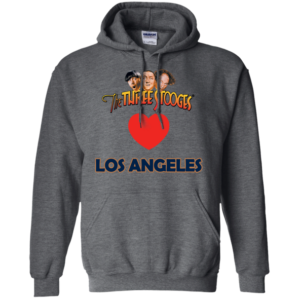 Three Stooges Love Los Angeles Heart Hoodie - FREE SHIPPING