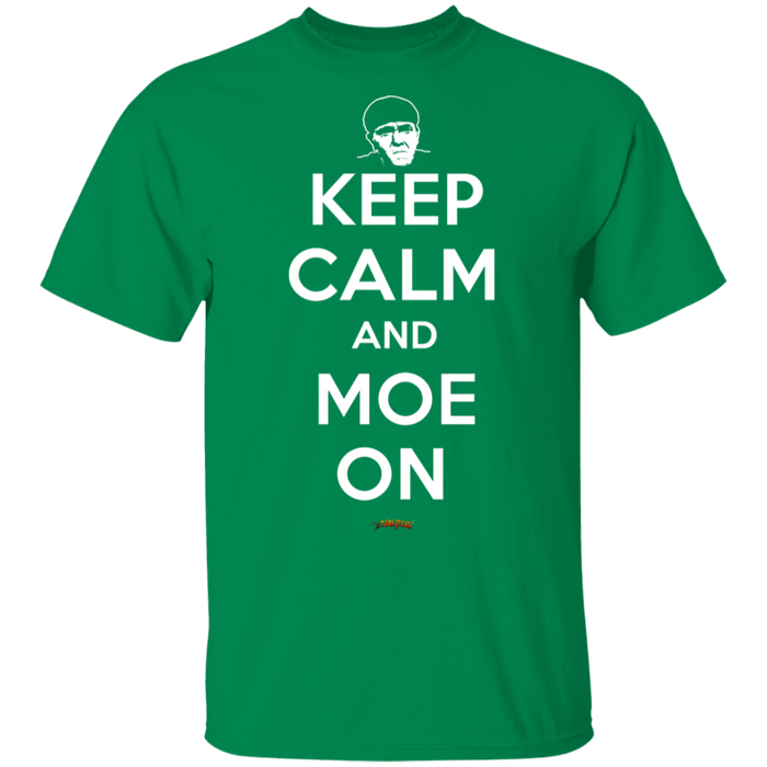 Three Stooges Keep Calm And Moe On T-Shirt