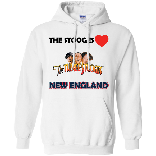 Three Stooges Love New England Hoodie | FREE SHIPPING