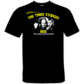 Three Stooges Beer T-Shirt