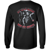 Three Stooges Of Anarchy Long Sleeve T-Shirt