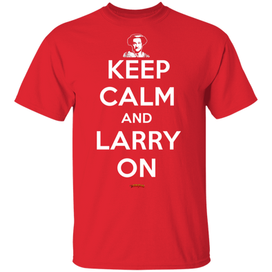 Three Stooges Keep Calm And Larry On T-Shirt