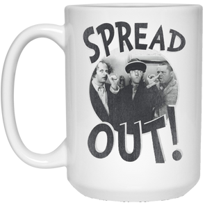 Three Stooges Spread Out Large 15 Oz. Mug - Free Shipping