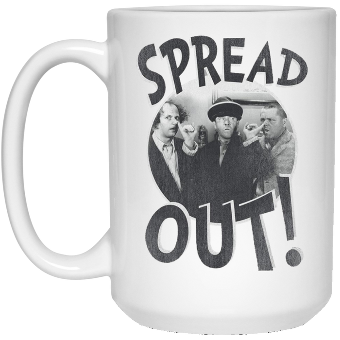 Three Stooges Spread Out Large 15 Oz. Mug