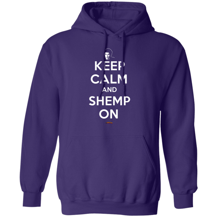 Three Stooges Keep Calm And Shemp On Pullover Hoodie Sweatshirt