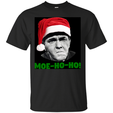 Three Stooges Moe Ho Ho T-Shirt
