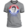 Three Stooges Shemp For President Ringer T-Shirt