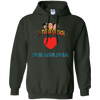 Three Stooges Love Philadelphia Heart Hoodie - FREE SHIPPING