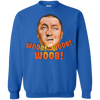 Three Stooges Curly Woob Woob Woob Sweatshirt