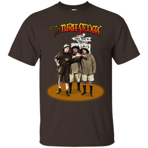 Three Stooges Safari Pointing T-Shirt
