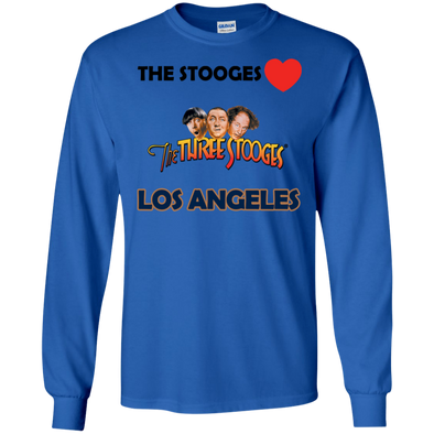 Three Stooges Love Los Angeles Long Sleeve Shirt