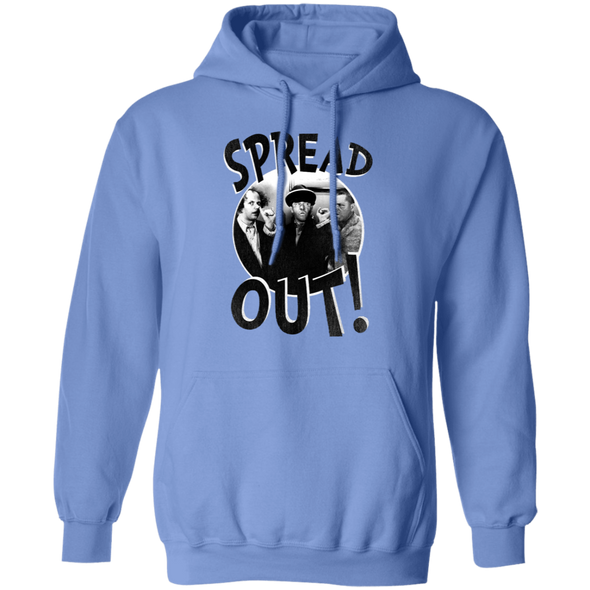 Three Stooges Spread Out Pullover Hoodie Sweatshirt
