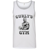 Three Stooges Curly's Gym Ringspun Cotton Tank Top
