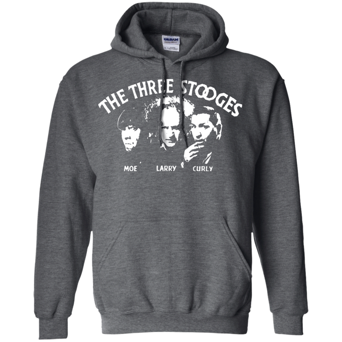 Three Stooges Pullover Hoodie Classic Opening Credits
